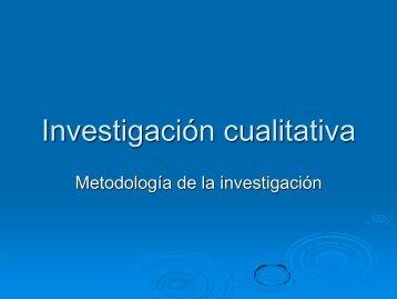 Haz clic aquí para descargar la Investigación Cualitativa