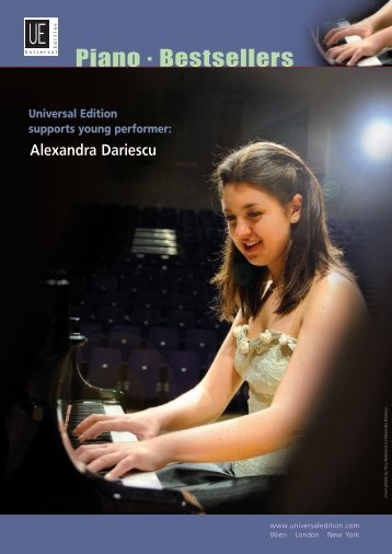 Piano . Bestsellers - Universal Edition
