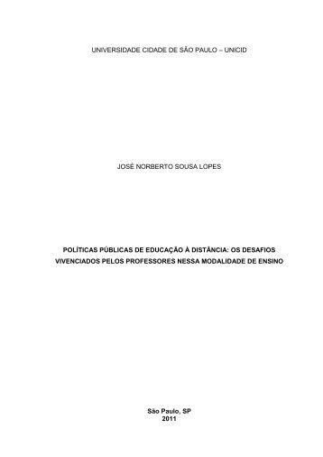 Projeto - José Norberto