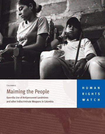 Maiming the People - Human Rights Watch