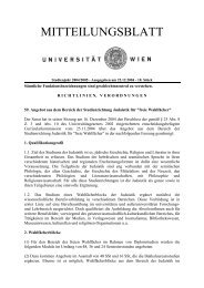 59. Angebot aus dem Bereich der Studienrichtung Judaistik