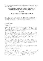 124. Studienplan des Diplomstudiums ... - Universität Wien