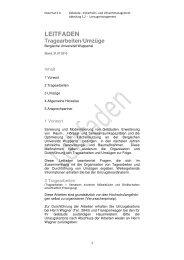 Leitfaden Tragearbeiten/Umzüge - Bergische Universität Wuppertal