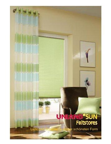 Produktinformation UNLAND SUN Faltstores