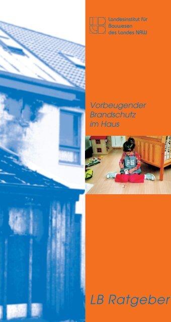 Vorbeugender Brandschutz im Haus - Ekibb