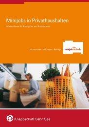 Minijobs in Privathaushalten