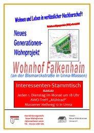 Wohnhof Falkenhain - Kreisstadt Unna
