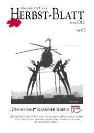 PDF-Download Herbstblatt Nr. 67 - Kreisstadt Unna