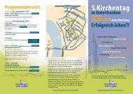 pdf-Datei 198 kb - Unterfränkischer Kirchentag 2012