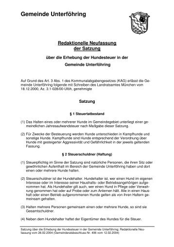 Version zum Ausdrucken - Gemeinde Unterföhring