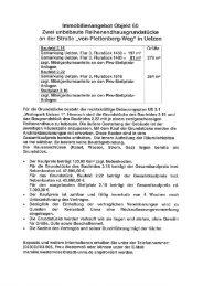 lmmobilienangebot Objekt 60 Zwei unbebaute ... - Kreisstadt Unna