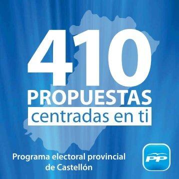 PROPUESTAS - Partido Popular Castellón