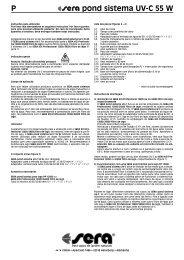 P pond sistema UV-C 55 W - sera GmbH