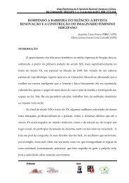 a revista renovação ea construção do imaginário feminino sergipano