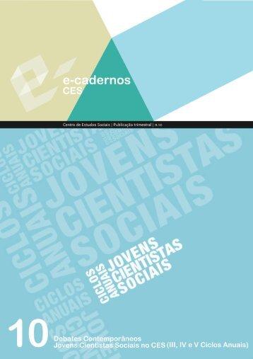 pdf - Centro de Estudos Sociais - Universidade de Coimbra