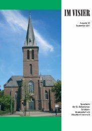 Im Visier 2011 - St.Sebastianus Schützenbruderschaft Düsseldorf ...