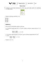 Matemática - Curso Objetivo