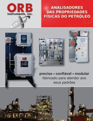ANALISADORES DAS PROPRIEDADES FÍSICAS DO PETRÓLEO ...
