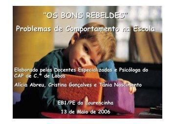 """""""OS BONS REBELDES"""" - E.Especial"""