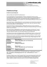 Praktikumsanfrage QUEST HS12 - Unterstrass.edu