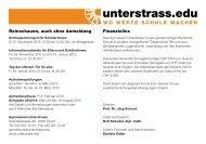 Termine Aufnahmeprüfung 2013 - Unterstrass.edu