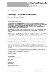 Info Schulleitungen Schulpflegen Quest - Unterstrass.edu