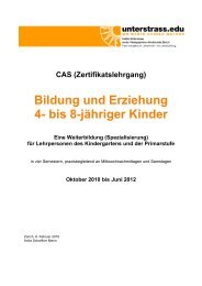 CAS 4-8 10_12 Def.Prog - Unterstrass.edu