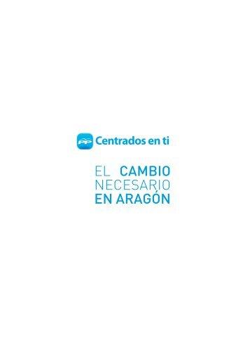 Programa electoral 2011 - Partido Popular de Aragón