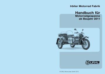 Handbuch für - Ural Motorcycles Europe