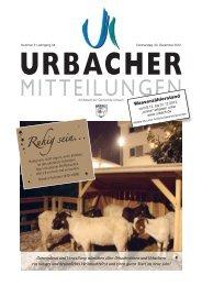Ruhigsein... Ruhig sein... - Gemeinde Urbach