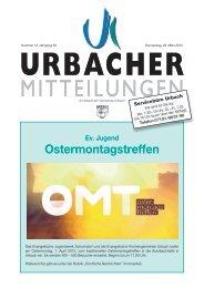 Mitteilungsblatt vom 28.03.2013 - Gemeinde Urbach