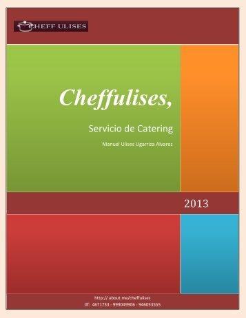 Cheffulises, Servicio de Catering