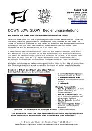 DOWN LOW GLOW - Used