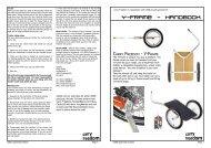 y-frame - handbook - Used