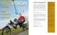 pedal power - Velo Vision Nederland
