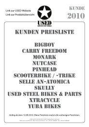 KUNDEN PREISLISTE - Used