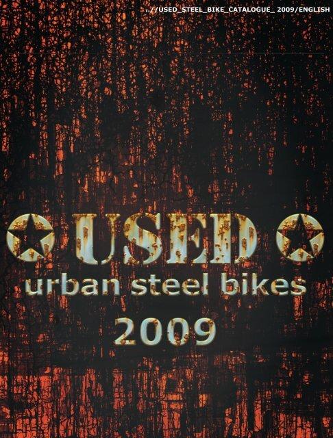 USED Steel Bike Catalogue