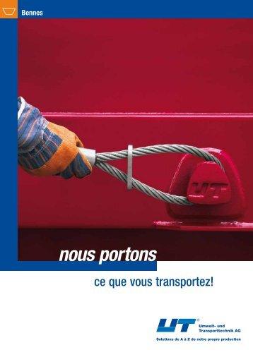 Bennes - UT Umwelt- und Transporttechnik AG
