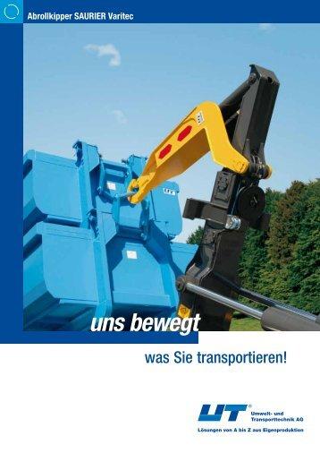 PDF, ca. 654 KB - UT Umwelt- und Transporttechnik AG