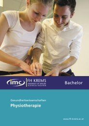 Physiotherapie Bachelor
