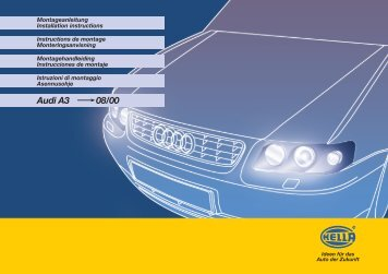 Hella BMW Xenon 8-Spr.ST - uwf-Interieur