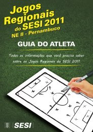 Manual do Atleta.cdr - Jogos do Sesi