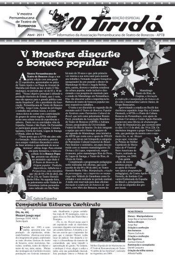 V Mostra discute o boneco popular - Associação Pernambucana de ...