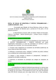 Anexo C do edital - Instituto Federal do Sertão Pernambucano