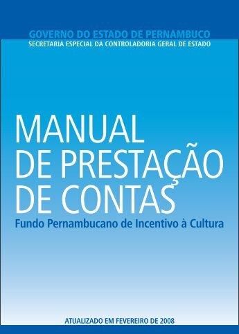 Fundo Pernambucano de Incentivo à Cultura - Sefaz PE - Governo ...