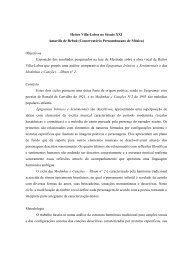 Heitor Villa-Lobos no Século XXI Amarílis de Rebuá ... - Performa