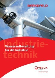 Wasseraufbereitung für die Industrie - Water Treatment by Berkefeld