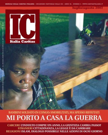 """Articoli da """"Italia Caritas"""" (settembre 2007)"""