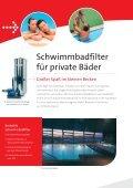 Wasseraufbereitung Schwimmbadtechnik - Water Treatment by ... - Seite 6