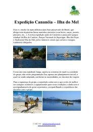 Expedição Cananéia – Ilha do Mel - Aroeira Outdoor